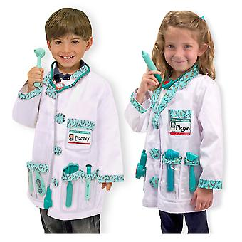 Childrens Melissa and Doug Doctor Fancy Dress Costume Age 3-6