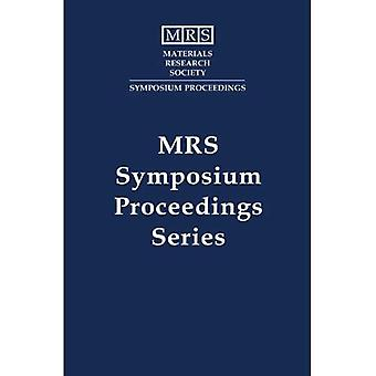 Scintillator and Phosphor Materials: Volume 348 (MRS Proceedings)
