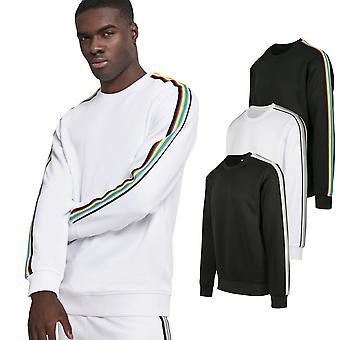 Urban classics - TAPED tricot sweater crewneck