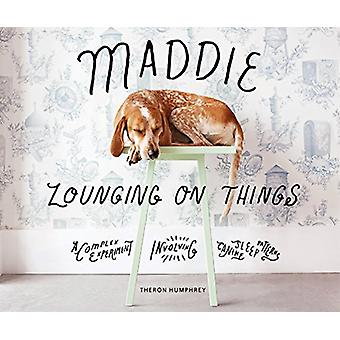 Maddie Lounging On Things - A Complex Experiment Involving Canine Slee