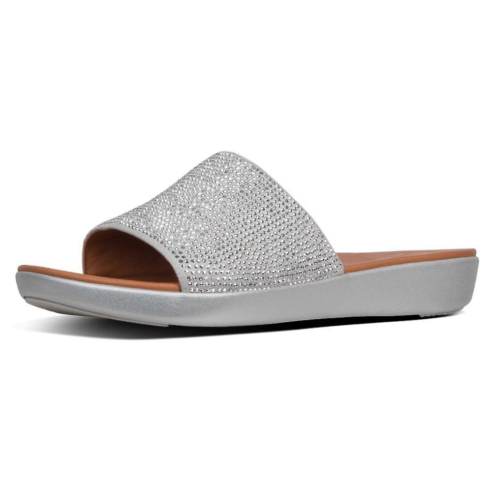 Fitflop™ Sola Crystalled Slide On Sandal qOGH39