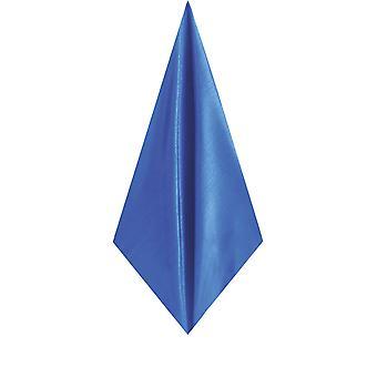 多贝尔门皇家蓝色口袋方形手帕杜皮翁萨丁-费尔面料
