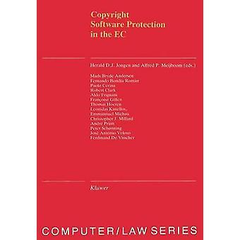 Ley de computadora Software Copyright serie protección en CE Vol 12 por Jongen & H.D.J.