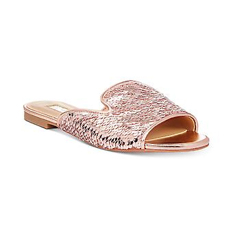 INC International Concepts Womens Maylap Open Toe Special Occasion Slide Sand...