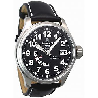 Aeromatic A1288 Retro Swiss Horloge