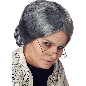 Grandma Wig For Adults