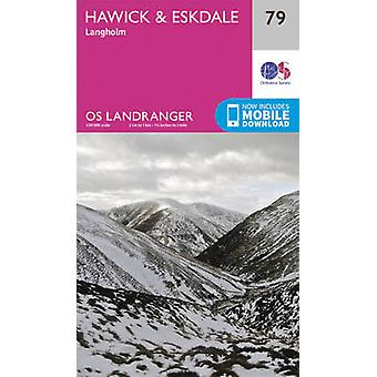 Hawick & Eskdale - Langholm by Ordnance Survey - 9780319261774 Book
