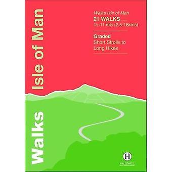 Walks Isle of Man by Richard Hallewell - 9781872405698 Book