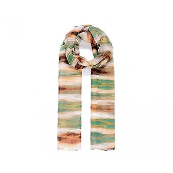 Intrige dames/dames abstract Stripe print sjaal
