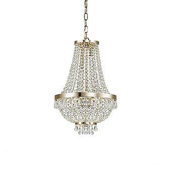 Ideal Lux Caesar 6 glödlampa hängande ljus guld
