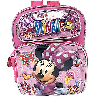 Small Backpack - Disney - Minnie Mouse - Minnie Bow Pink 12