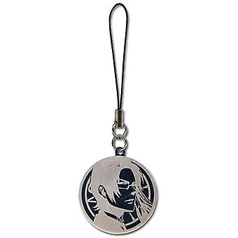 Phone Charm Black Butler 2 Claude Round - Anime - Licensed - ge17037