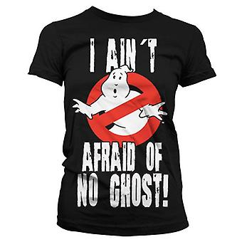 Ladies Ghostbusters 'I Ain't Afraid of No Ghost' T-Shirt