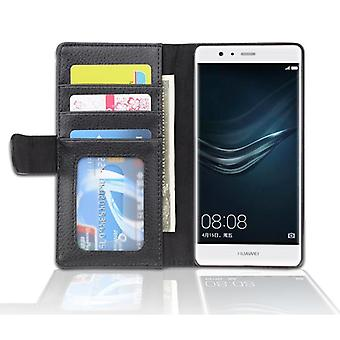 Cadorabo Case for Huawei P10 LITE Case Cover - Phone Case with Magnetic Closure and 3 Card Slots - Case Cover Case Case Case Case Case Book Folding Style