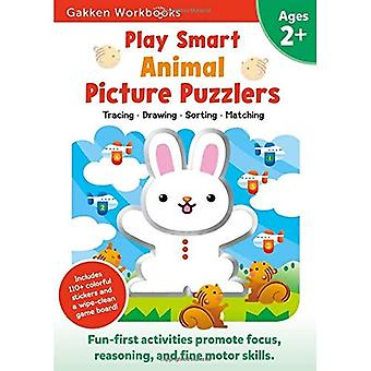 Play Smart Animal Picture Puzzlers (Gakken Workbooks)