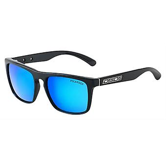 Dirty Dog Monza Sunglasses - Black/Ice Blue