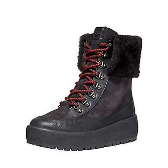 Coach Womens Tyler Rubber Almond Toe Mid-Calf Cold Weather Boots