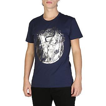 Versace jeans men's camiseta azul b3gsb76s