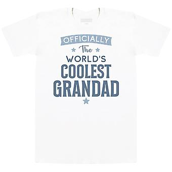 Offically The World's Coolest Grandad - Mens T- Shirt