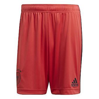 2020-2021 Deutschland Home Adidas Torwart Shorts (Rot)