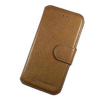 Case For iPhone 6 Plus / 6s Plus Book Type Brown Clair
