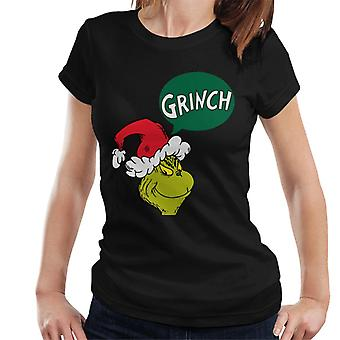 The Grinch Speech Bubble Women's T-Shirt