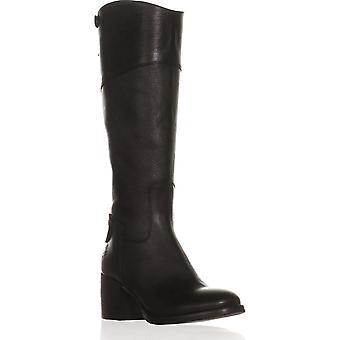 Patricia Nash Womens Loretta Leather Almond Toe Knee High Cowboy Boots