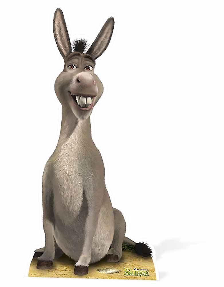 Åsnan från Shrek Lifesize kartong släppandet stående Standup