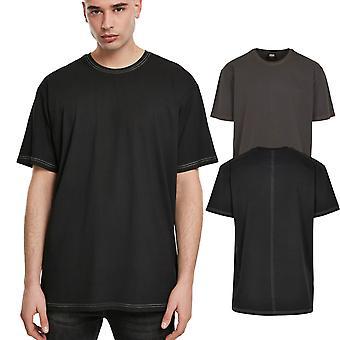 الكلاسيكية الحضرية - الثقيلة قميص غرزة التباين المتضخم