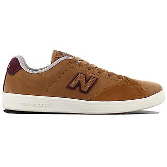 New Balance Numeric 505 Schuhe Leder Braun Sneaker Sportschuhe