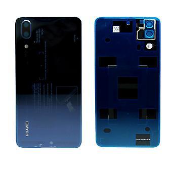 Huawei batterij cover batterij cover batterijklepje blauw voor P20 / dubbele / 02351WKU repareren nieuw