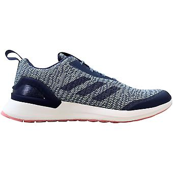 أديداس Rapidarun x Knit Raw Indigo/Ash Grey-True Pink D97078 Grade-School