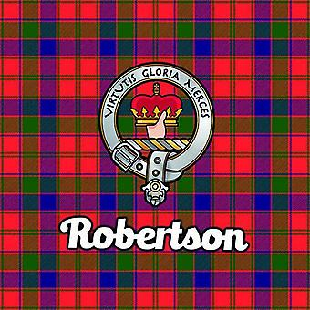 Art2Glass Tartan Clan Coaster - Robertson