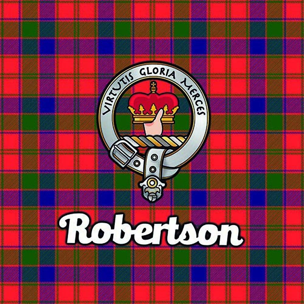 Art2Glass Tartan Clan Coaster - Robertson