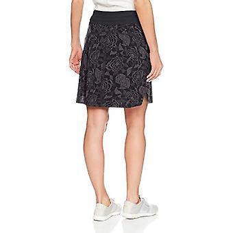 Spódnica Sport Kobiety's Go Longer Spódnica, Noir Fleur Print, Rozmiar Medium