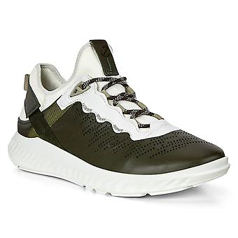 Ecco Mens 2020 St1 Lite M Deep Forrest Leather Breathable Lightweight Trainers