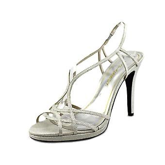 Caparro's Women's Sunday Crystal Embellished Slingback Sandals