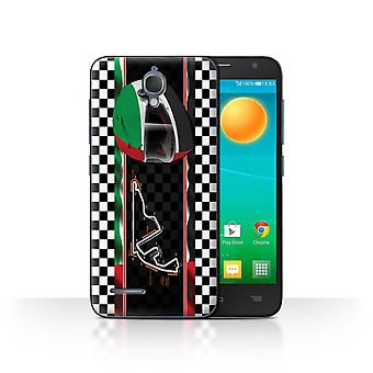 STUFF4 Case/Cover for Alcatel Idol 2 Mini/Abu Dhabi/Yas Marina/F1 Track Flag