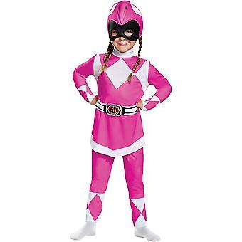 Rosa Ranger Kleinkind Kostüm