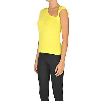 Nenette Ezgl266069 Women's Yellow Viscose Top