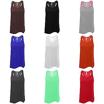 Bella Ladies/Womens Flowy Racerback Tank Top