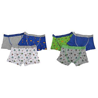Kids By Tom Franks Boys Outer Space Trunks (Pack Of 3)