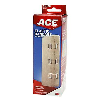 3m ace brand elastic bandage with clips, 6 inch, 1 ea