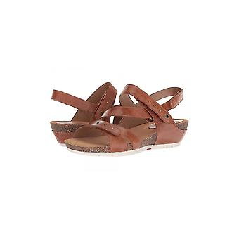 Josef Seibel Womens Hailey33 Leather Open Toe Casual Platform Sandals