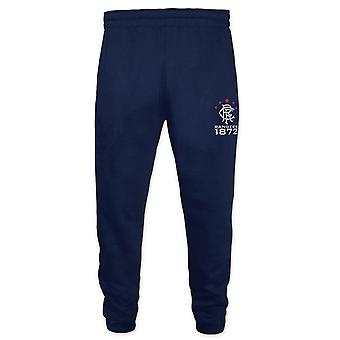 Rangers FC Official Football Gift Boys Slim Fit Fleece Joggers Jog Pants