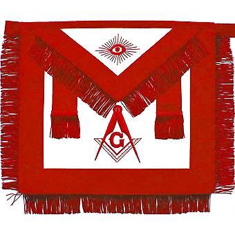 Masonic aasr scottish rite master mason apron