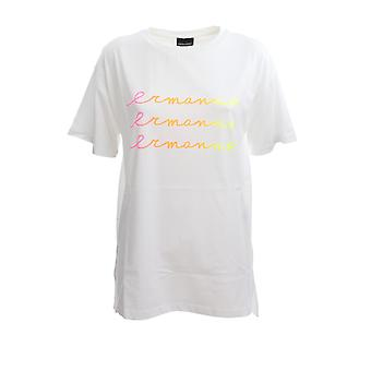 Ermanno Scervino Ts27jco10 Women's White Cotton T-shirt