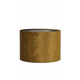 ライト&リビングシリンダーシェード 25x25x18cm 宝石 ゴールド