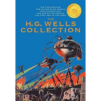 The H. G. Wells Collection 5 Books in 1 The Time Machine The Island of Doctor Moreau The Invisible Man The War of the Worlds The First Men in the Moon 1000 Copy Limited Edition by Wells & H G