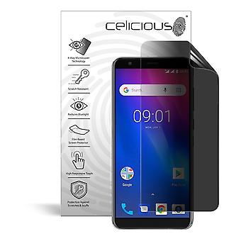Celicious Privacy Plus 4-Wege Anti-Spy Filter Screen Protector Film kompatibel mit Ulefone S1